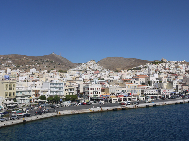 relaxing weekend in Syros