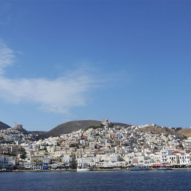 autumn holidays in Syros