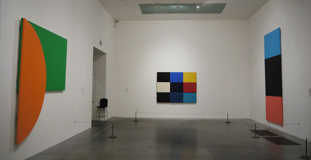 Ellsworth Kelly - Orange Relief with Green (1991), Méditerranée (1952), Blue Black Red (2006)