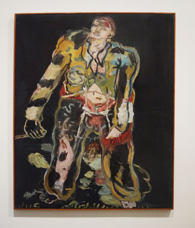 Georg Baselitz - Rebel (1965)