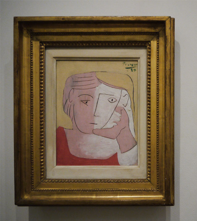 Pablo Picasso - Head of a Woman (1924)