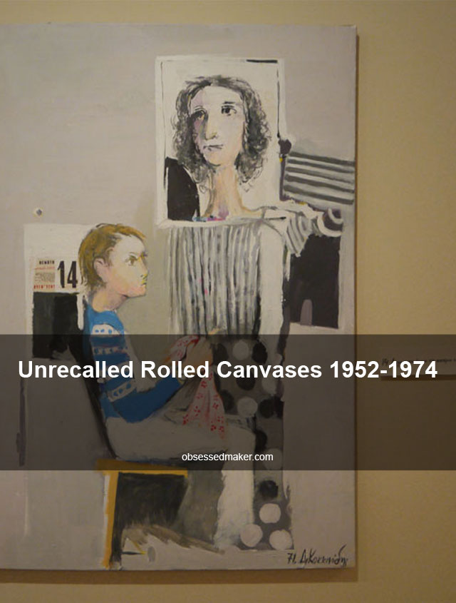 Unrecalled Rolled Canvases 1952-1974
