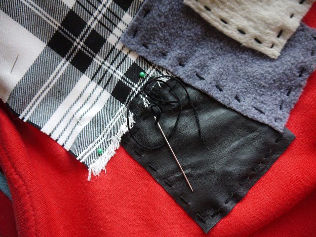 diy patchwork jumper (4)