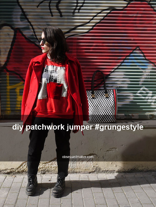 diy patchwork jumper
