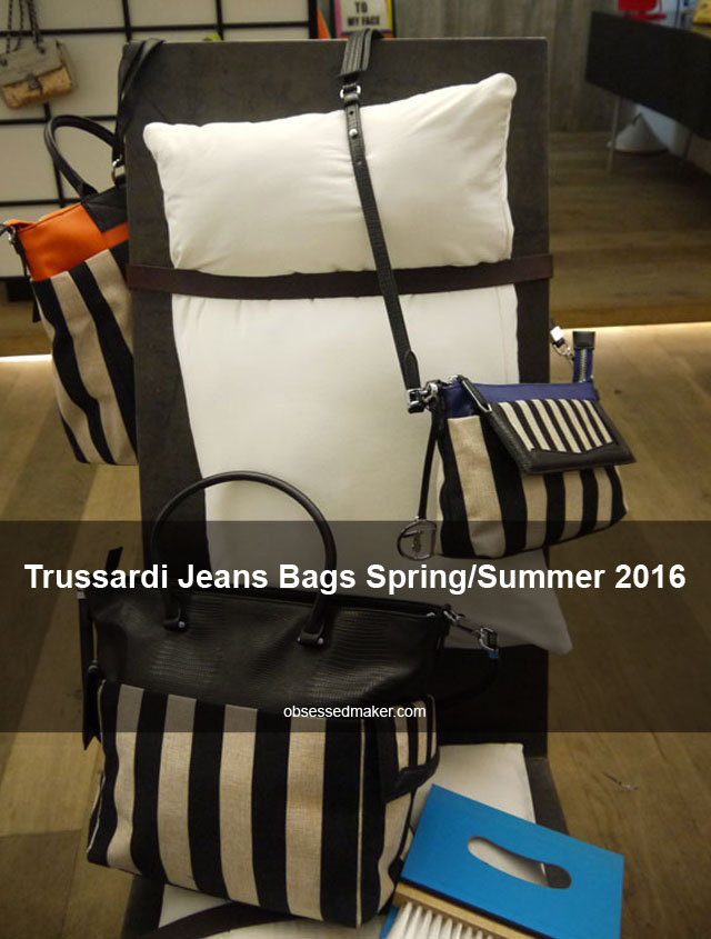 Trussardi Jeans Bags Spring/Summer 2016