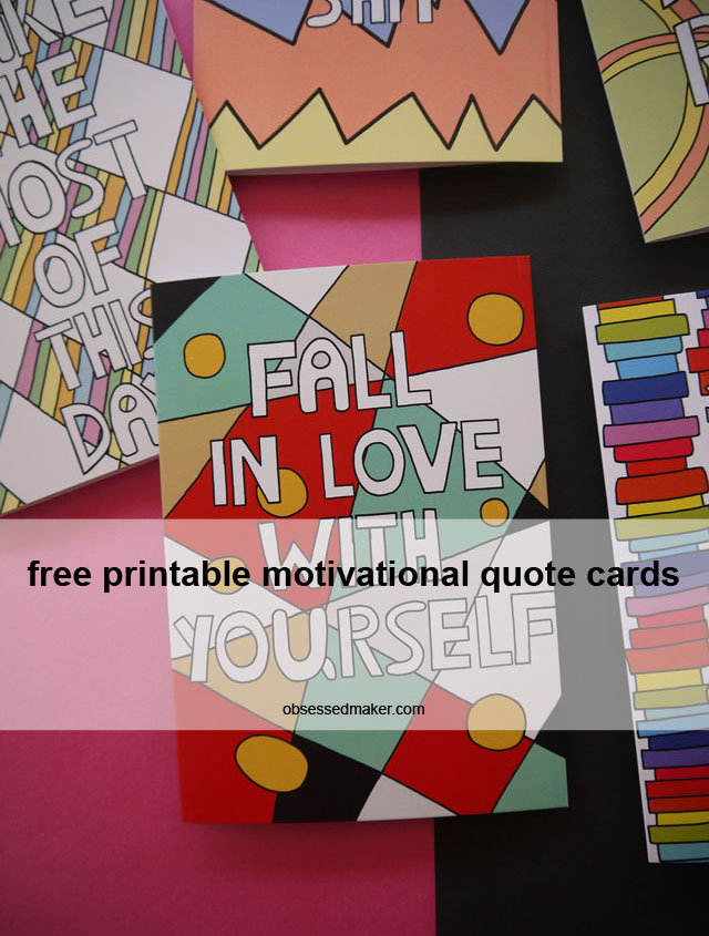 printable motivational quote cards
