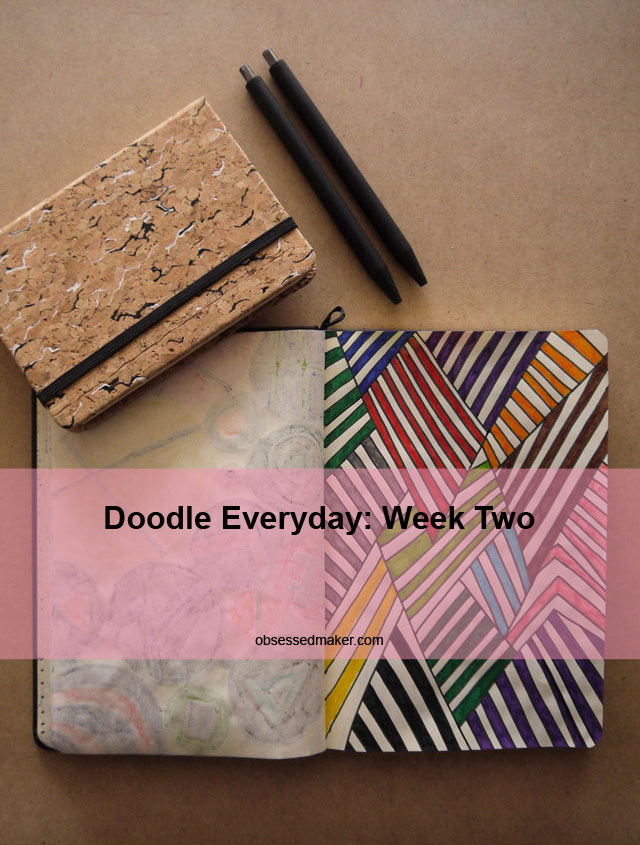 doodle everyday - week two