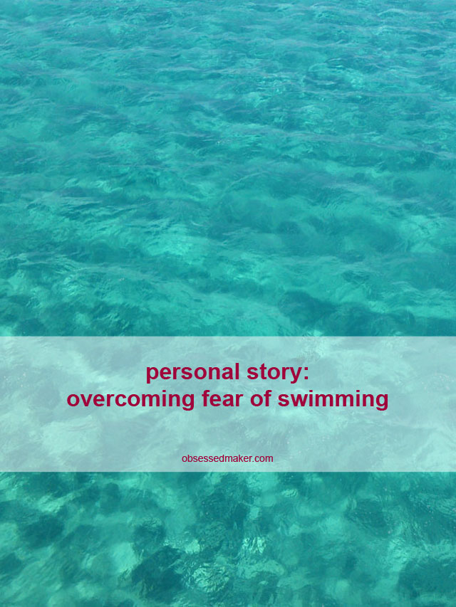 overcoming fear of swimming
