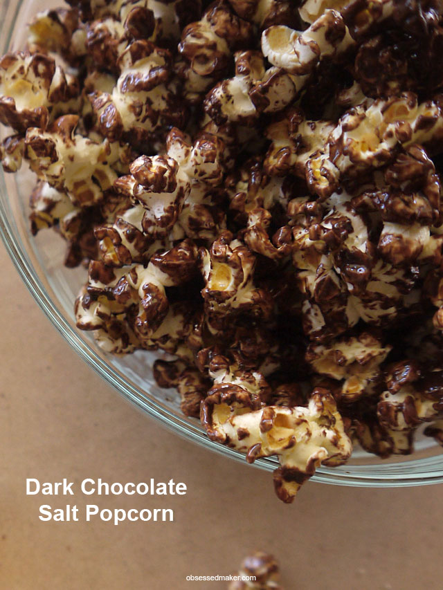 Dark Chocolate Salt Popcorn