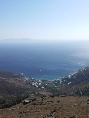 Tinos island Greece Exomeria view