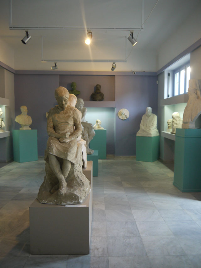 Tinos island art - Museum of Panormitan Artists (1)