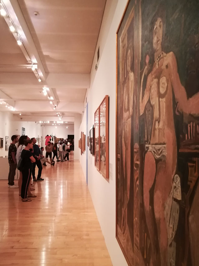 Yannis Moralis retrospective exhibition at Benaki Museum